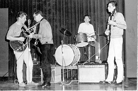 Early picture of the band